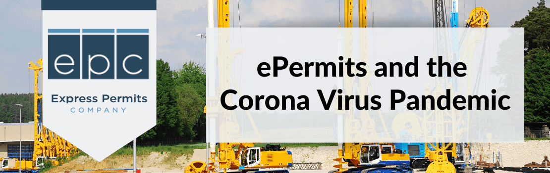 epermits and the corona virus pandemic