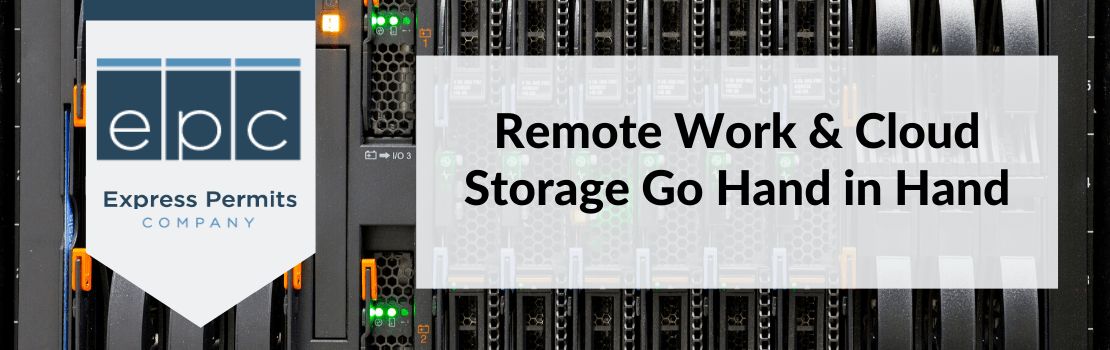 Remote work and cloud storage go hand-in-hand